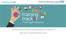 Tablet Preview of chelwest.trainingtracker.co.uk